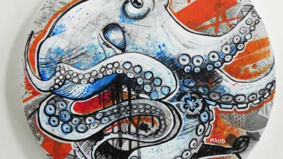 Maud Besson - Octopus VI, 2018 (detail)