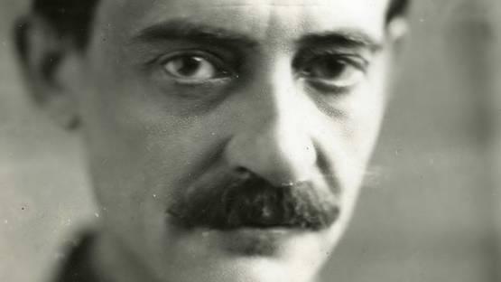 Maurice Utrillo portrait, 1930, photo by Henri MARTINIE