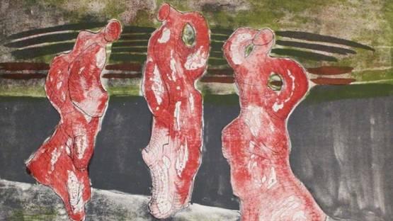 Max Herold - Drei Figuren, 1975 (detail)