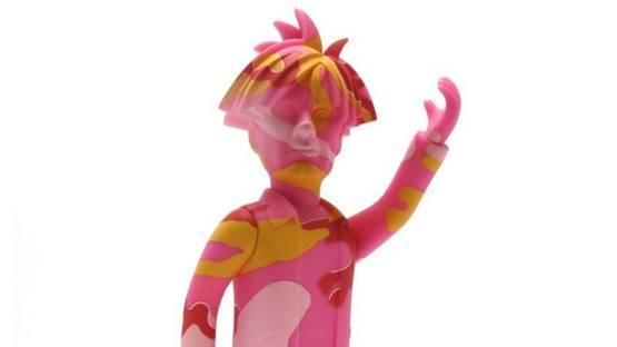 Medicom Toy - Andy Warhol - Pink Camo Edition, ca. 2019 (detail)