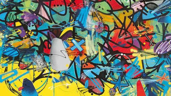 Medra - Untitled (detail), 2016 - image via auctiontajancom