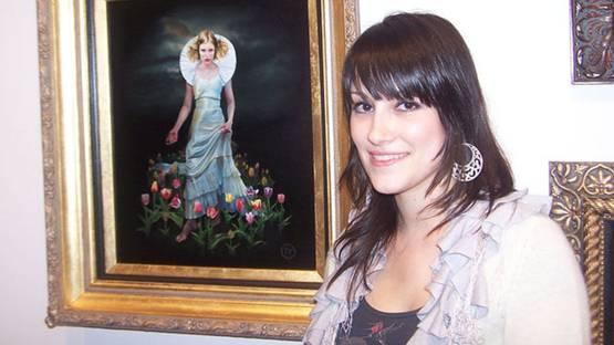 Melisa Forman - Portrait of the Artist, courtesy of Corey Helford Gallery
