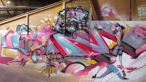 Meyk and Sybz - street art - photo credits of the artists