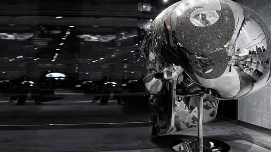 Michael Benisty - Skull (detail), 2012