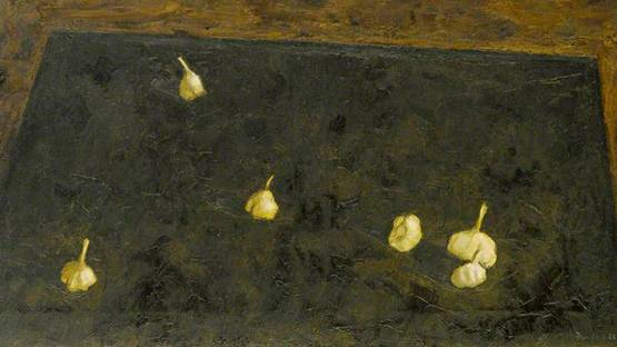 Michael Fussell - Garlic (Detail), 1956 - Photo copyright of the Arts Council Collection