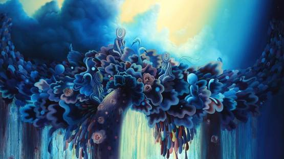 Michael Page - Varnish, detail - image courtesy of Arrested Motion