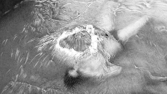 Michael Stalherm - Wasserherz (detail), 2009, photo courtesy of Gallery Benjamin Eck