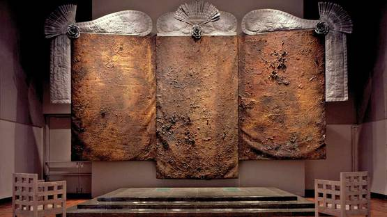 Michael Tracy - Triptych, The 11th, 12th, and 13th Stations of the Cross for Latin America - La Pasión, 1981-88