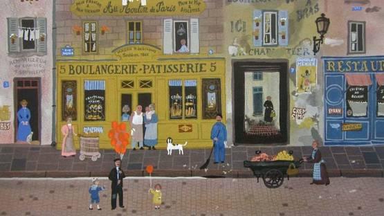 Michel Delacroix - Au Moulin de Paris, 1985 (detail)