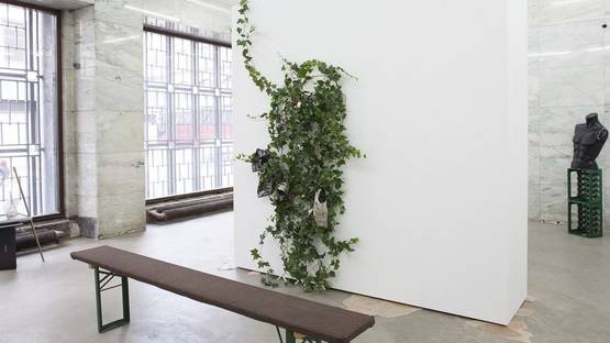 Mikael Brkic - To the Fans, solo show at VI, VII, Oslo, 2015, installation view, photo by Amalie Winther