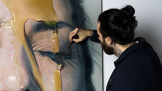 Mike Dargas - work in progress, photo credits of the artist
