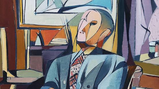 Mino delle Site - Il Gentiluomo, 1949 - Image via martiniarte