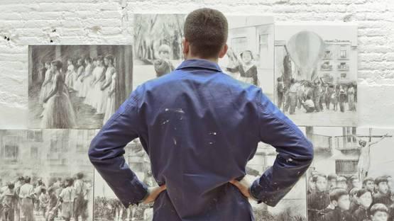 Miquel Wert - Portrait of the artist (Detail)