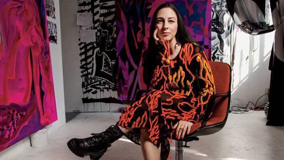 Mira Dancy - Photo of the artist - Image via vogue