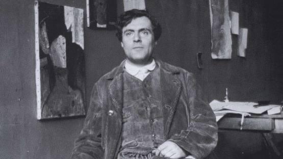 Modigliani at Bateau-Lavoir, 1915