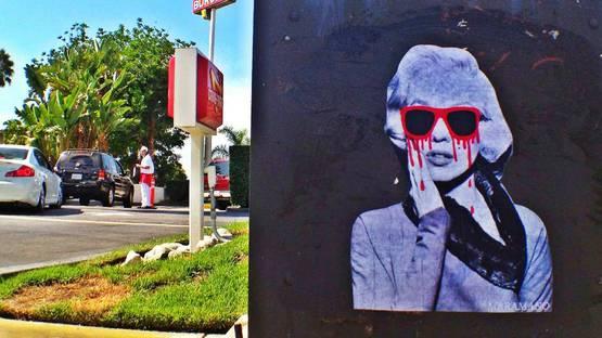 Mr. Ramano - Marilyn Monroe, LA, 2012 - Photo Credits Mr. Ramano
