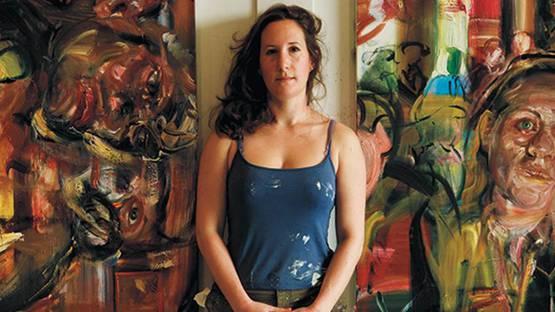 Natalie Frank, artist, photo credits - Blou Art Info
