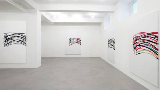 Nelio Sonego - solo show at A Arte Invernizzi, 2013, photo via espoarte net