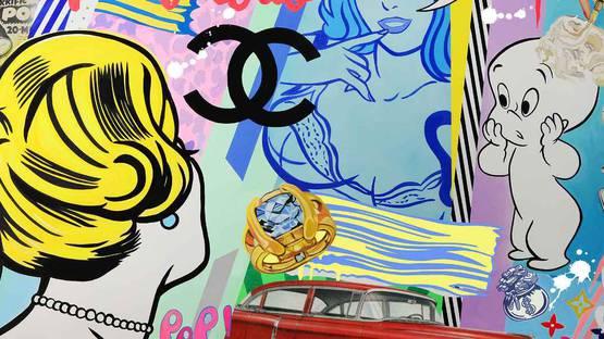 Nelson De La Nuez - detail of an artwork - photo credits of the artist
