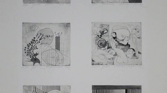 Nicolai Sarafov - The Six Senses, 1972 (detail)
