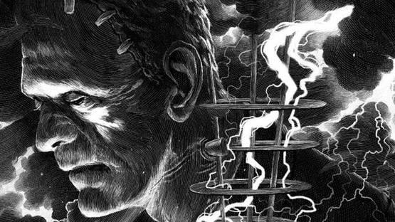 Nicolas Delort - Frankenstein (detail) - image courtesy of Spoke Art