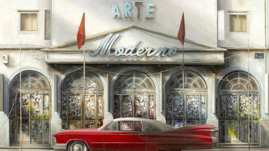Norberto Gonzalez - Arte Moderno, 2018 (detail)
