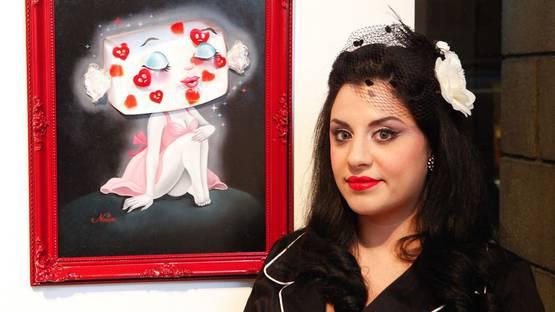 Nouar - Portrait of the artist (detail) , photo credits Stephaniechefas