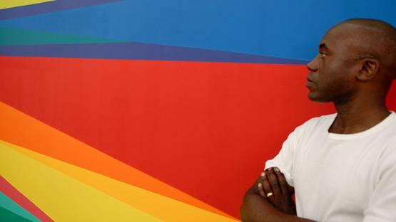 Odili Donald Odita - portrait, photo credits oneart.org