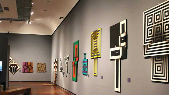 Omar Rayo - Pieces on display - Image via thecitypaperbogota