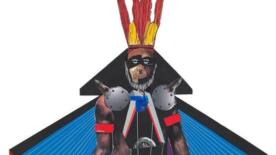 Onzie Norman - Black Hawk, 2019 (detail)