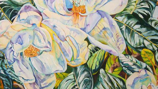 Patricia Tobacco Forreste - Magnolias Abandoned, 2004. (detail), photo by Persim Montroee