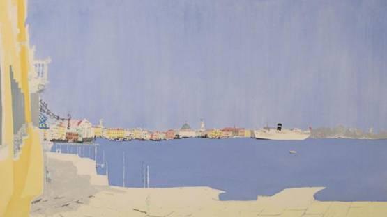 Patrick Procktor - Venice (detail), 1972
