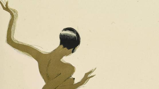 Paul Colin - Le Tumulte Noir (detail), 1927 - image via bonhamscom