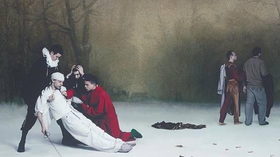 Paul Hodgson - Masquerade (detail), 2001