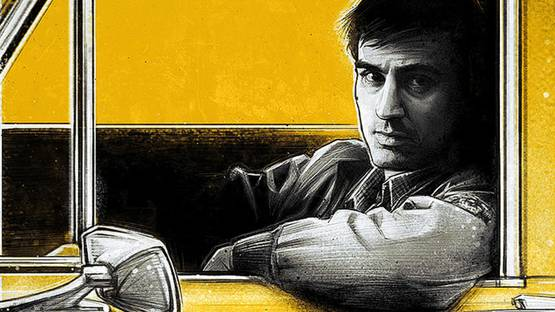 Paul Shipper - Taxi Driver (detail) - image courtesy of Spoke Art
