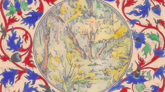 Paul Boutet-Lagrée - The Nut-Brown Maid, ca 1900 (detail)