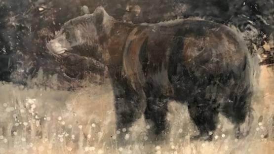 Paul Garbett - Travelling Bear #2020, 2020 (detail)