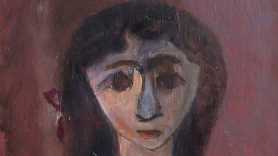 Perna Krick - Young Girl, 1959 (detail)