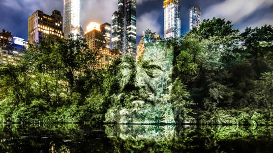 Philippe Echaroux - The Face of Trees (New York), 2019 (detail)