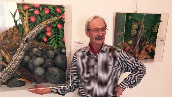 Piero Gilardi's Portrait - image via latelacciait