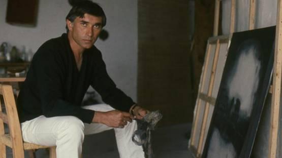 Pierre Dmitrienko in his Studio in Ibiza, 1968, Image copyright Lilo Raymond
