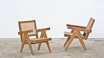 Pierre Jeanneret - Lounge Chairs - photo via franklandau com