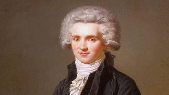 Pierre Roch Vigneron - Portrait of Maximilien Robespierre (detail)
