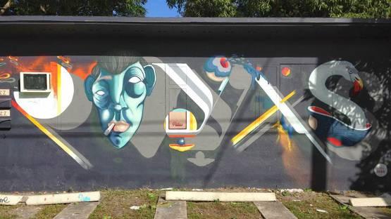 Pillas Bros mural