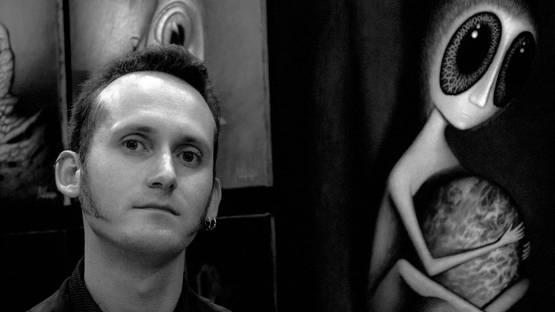 Portrait of August Vilella in the Carrousel du Louvre, Paris - photo credit David Law