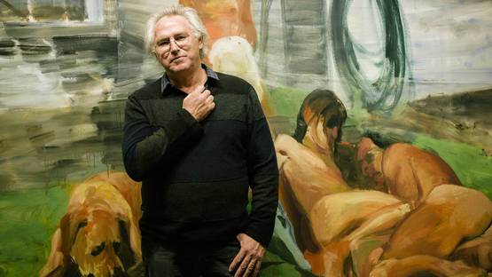 Portrait of Eric Fischl - image courtesy of Financal Times