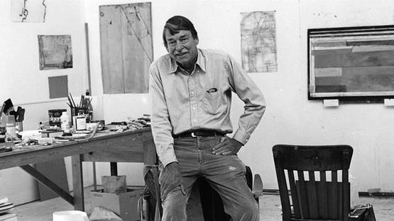 Portrait of Richard Diebenkorn