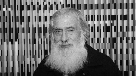 Portrait of Yaacov Agam - image courtesy of Michel Lunardelli