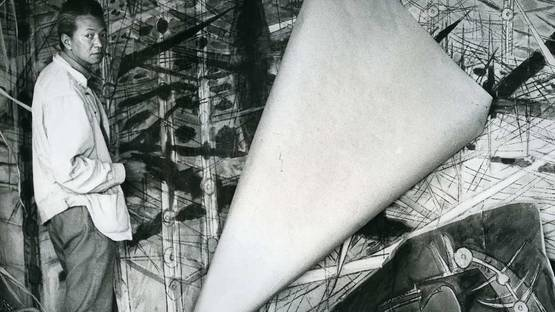 Portrait of the artist, 1963, image via W Magazine