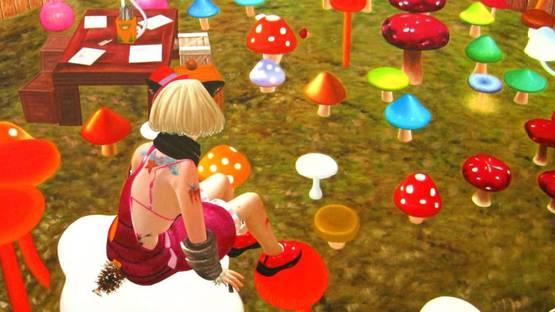 Potchi Moopp - Crazy Mushrooms 2 (detail), 2011